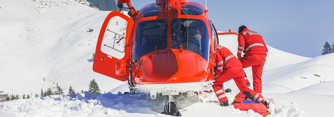 heli ski accident