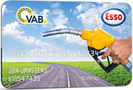 VAB Carte carburant Esso